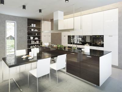 Bordplade i køkken
