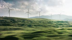 Grøn energi via vindmøller